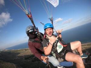 consejos para que vuelo en parapente en Santa Pola