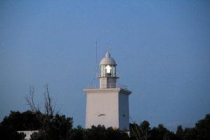 Faro de santa Pola en la noche